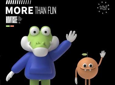 橙鱼品牌吉祥物IP设计-文创品牌/潮玩品牌IP案例