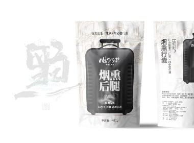 造塑创意 / 腊货郎 四川腊肉品牌包装设计