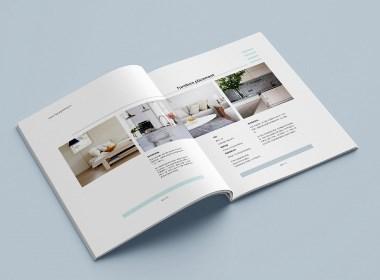 装饰公司画册版式设计
