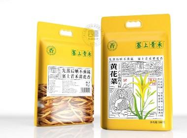 塞上青禾黃花菜包裝設計