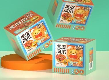尚智×永辉超市 | 馋大狮肉食系列包装设计