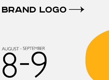 8-9月份logo合集