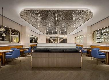 深圳餐厅设计 宝安方元城 新宝餐厅 380㎡港风餐厅设计
