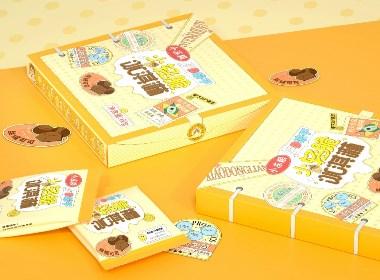 尚智×好想你   小冻粮冻干冰淇淋食品包装设计