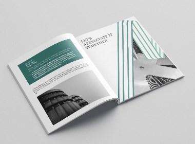 建筑公司画册版式设计