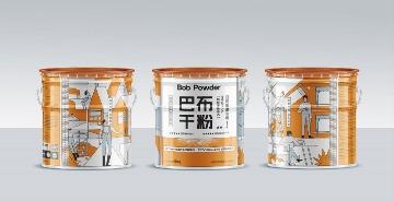 干粉涂料油漆家居品牌包装设计西安厚启