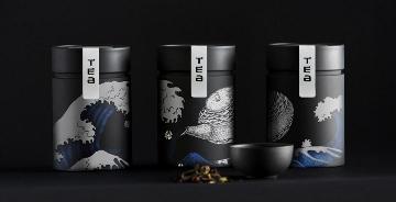 日本Samurai Japanese Cuisine茶包装设