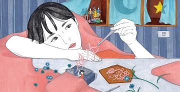 台北插画师ViviChen笔下生动的插画long88龙8娱乐官网赏 