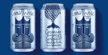 CoastWise Session IPA 啤酒公司品牌包装