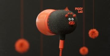 動物形狀耳機設計