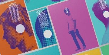 个人音频节目Loudhead品牌形象设计