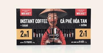 越南Mr.Viet速溶咖啡包裝設計