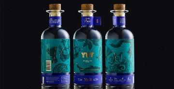 Yvy Mar酒品牌和包裝設計