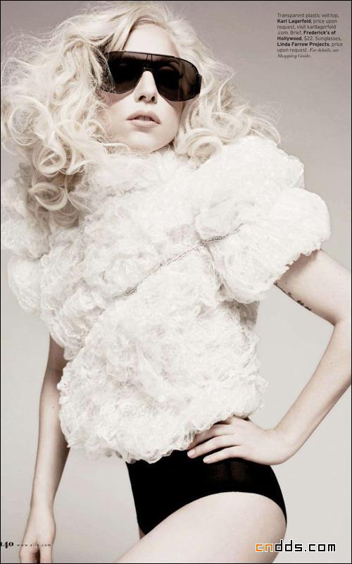 Lady GaGa鬼魅新娘依旧性感插图