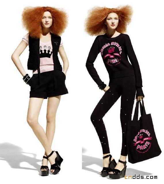 H&M的Sonia Rykiel 之春插图(2)