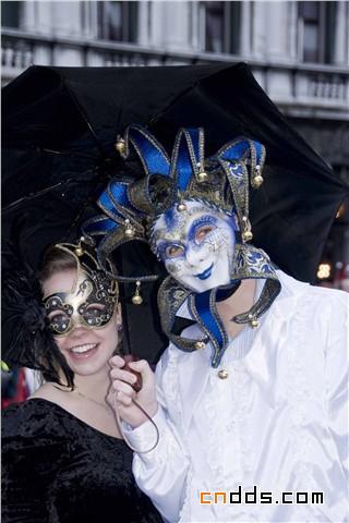 绚丽魅惑的视觉盛宴,2010 威尼斯狂欢节盛装精选插图(2)