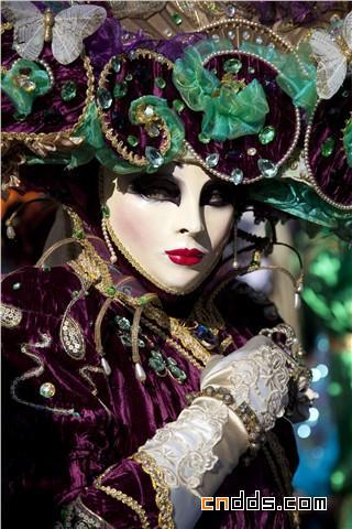 绚丽魅惑的视觉盛宴,2010 威尼斯狂欢节盛装精选插图