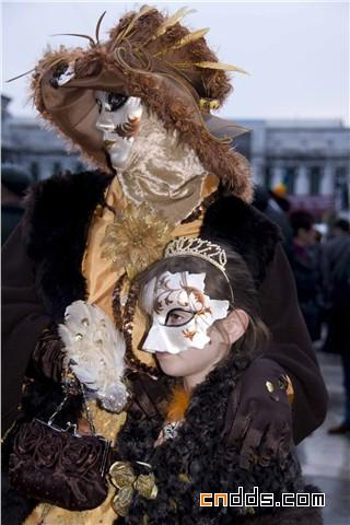 绚丽魅惑的视觉盛宴,2010 威尼斯狂欢节盛装精选插图(3)