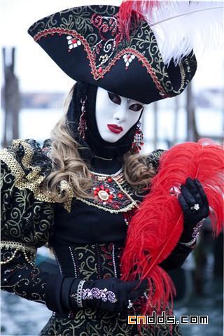 绚丽魅惑的视觉盛宴,2010 威尼斯狂欢节盛装精选插图(1)