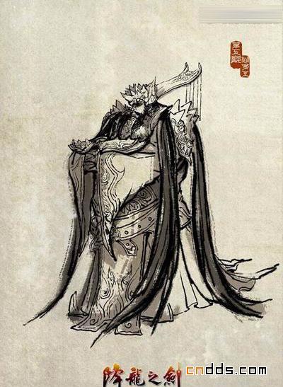 阎罗尊容 《降龙之剑》冥土四BOSS原画-中国