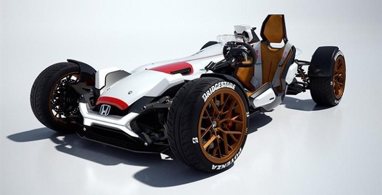 汽车世界自由化:本田发布品牌原创Project 2&4概念车
