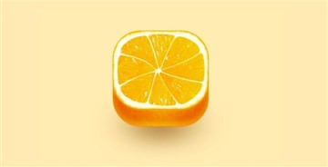 橙子图标UI设计教程附源文件