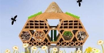"""昆虫设计""""五星饭店"""",建筑的伦敦艺术节荣获""""金甲虫"""