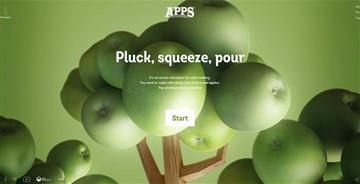 网页配色设计之2017流行色草木绿—元气满满好清新