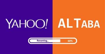 曾经的互联网巨头 雅虎将改名Altaba(阿里他爸)新LOG