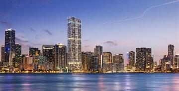 福斯特为迈阿密设计超高双塔