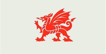 威尔士设计了全新的国家品牌LOGO