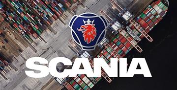 斯堪尼亚汽车(Scania)发布调整后的新LOGO