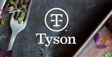 跨国食品公司泰森食品(Tyson Foods)更换新logo