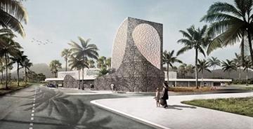 CAZA设计菲律宾农村医院