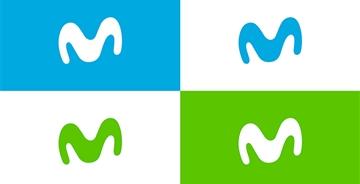 西班牙最大宽带提供商Movistar更换新LOGO