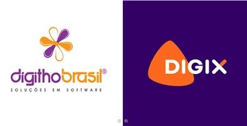 DígithoBrasil公司更名Digix并用新logo