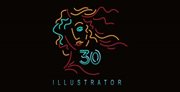 Illustrator,30岁生日快乐!
