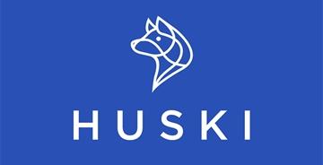 法国户外快递Huski全新的品牌LOGO