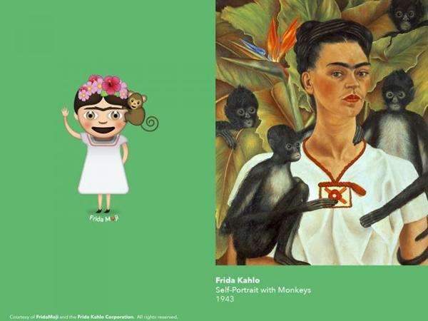 弗里达·卡罗(Frida Kahlo )画了55副自画像 (8).jpg
