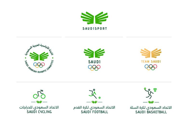 沙特阿拉伯奥委会(KSA)新LOGO发展史.jpg