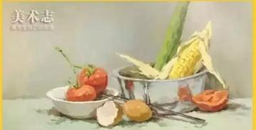 【色彩专题】想画好蔬菜,你需要把握哪几点?