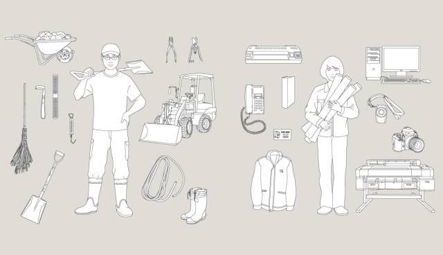 「PEOPLE」中介绍了动物园里的工作人员和他们的工具.jpg