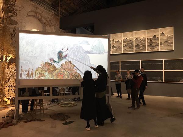 威尼斯国际艺术双年展中国馆2.jpg