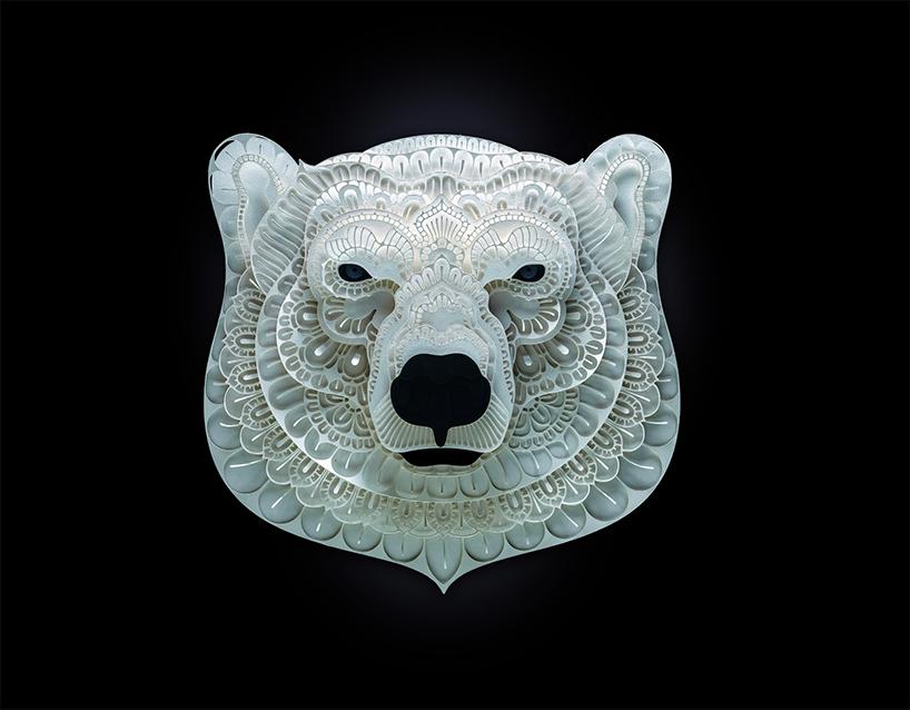 令人叹为观止的濒危动物剪纸艺术-中国设计网
