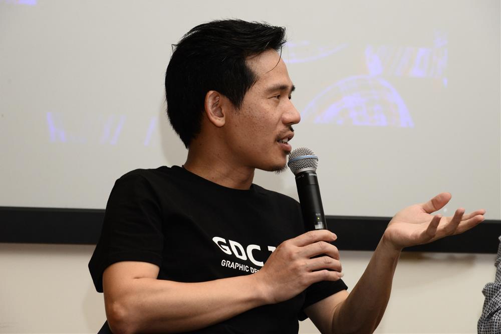 首场GDC Voice邀请到韩家英、刘华智、熊超三位嘉宾.JPG