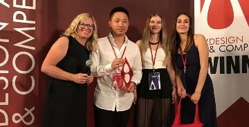 青年设计师杨超荣获意大利A设计大奖金奖