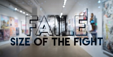 Faile 个展The Size of the Fight