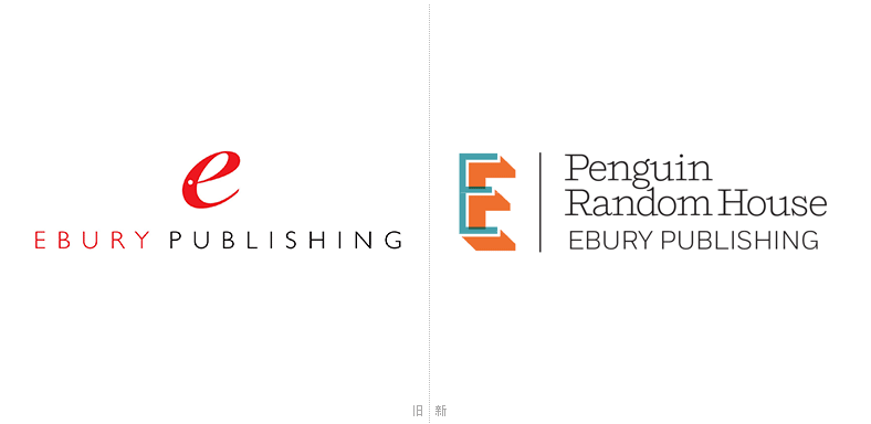 企鹅兰登书屋旗下出版社Ebury新旧LOGO对比.png