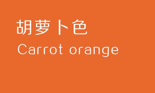 胡萝卜色.png