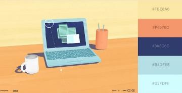 网页设计怎么选配色?这 29 个获奖网站色谱方案给你灵感!